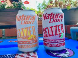 Catalina Lime Mixer Natural Light Natty Light Seltzer Review Say Aloha Beaches To Every
