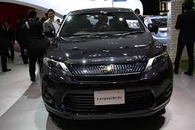 2017 Toyota Harrier (facelift) to launch in June - Japan