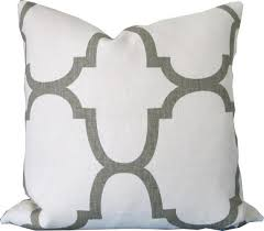 Designer Decorative Pillows For Couch Grey Decorative Pillow Cover 91