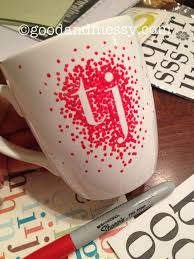 Mug Design Ideas These Are Not Dishwasher Safe Unless You Use The Oil Based Sharpies That Are Made For