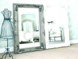 medium size of vintage metal mirror with shelf wooden mirrors uk used in wall on