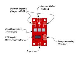 servo trigger hookup guide learn sparkfun com pcb diagram
