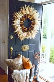Decorative Door Hangers 67 Cute And Inviting Fall Front Door Dccor Ideas Digsdigs