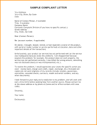 How To Write A Formal Complaint Letter Complaint Letter With