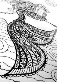 mermaid coloring book fabulous mermaid coloring book