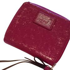 Coach Coach Poppy Liquid Gloss Brand New without tags BEAUTIFUL!!! Hot Pink  Patent ...