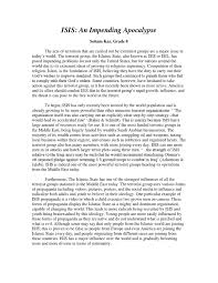 isis argumentative essay by smita issuu