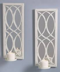 awesome mirrored wall sconce candle holder 23 about remodel table and chair inspiration with mirrored wall