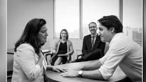 Image result for Justin Trudeau removes Jody
