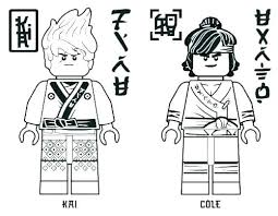 Lego Ninjago Kai Coloring Pages For Coloring Pages Free Colouring