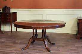 round dining room table elegant high end 60 round mahogany duncan phyfe dining room table