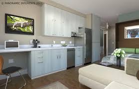 Apartments Studio Apartment Design Eas Bedroom Kitchen Cool