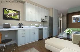 Apartment: Apartments Studio Apartment Design Eas Bedroom Kitchen Cool