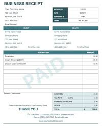 Business Receipt 13 Free Business Receipt Templates Smartsheet