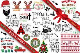 Mega Christmas Svg Bundle 8 Graphic By Freelingdesignhouse Creative Fabrica
