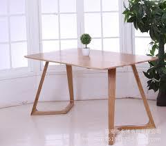 office desk legs. minimalist modern style dining table oak wood desk office leg 14 meters shaped legs
