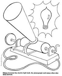 5b174f18ed15314ba701e04b72a84800 kids coloring pages thomas edison for kids this site has printable coloring pages for important inventors on electrical circuits for kids worksheets