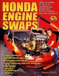 Details About Honda Acura Engine Swaps Book Manual Book