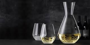 mosaik decanter and 2 tumbler