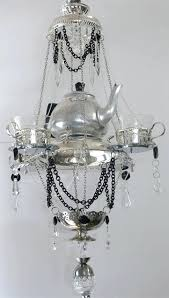 teacup chandelier the stacked teapot teacup chandelier teacup chandelier with spoons