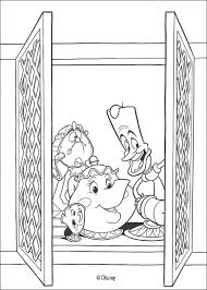Beauty And The Beast Coloring Pages 19 Free Disney Printables For