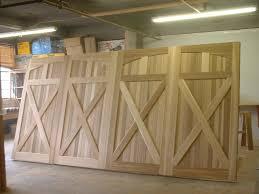 wood garage doorClingerman Doors  Custom Wood Garage Doors  Clearville PA