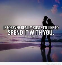 Love Forever Quotes Fascinating Love Is Forever Quote With Wallpaper
