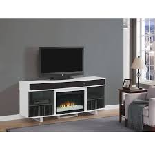 enterprise white faux fireplace w speakers alternate image 2 of 7 images