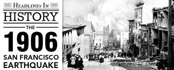 Image result for San Francisco is rocked by the biggest earthquake