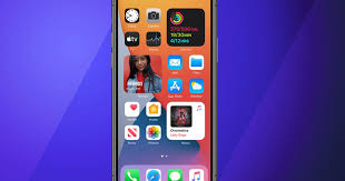 changes to the iphone home screen