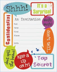 invitation t free printable surprise party invitation fabulous surprise party