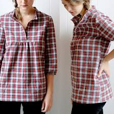 Tunic Sewing Pattern Beauteous Women's Tova Top Dress Sewing Pattern PDF Wiksten