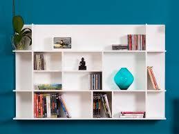temahome panorama white wall mounted storage display unit wall shelves