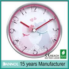 china guang zhou metal 8inch wall clock