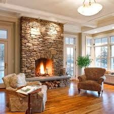 how to select the ideal fireplace for your home stone fireplace design