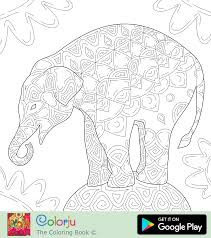 Coloring Pages D Elephant Coloring Pages 2