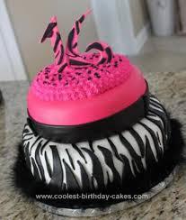 Coolest Sweet 16 Birthday Cake