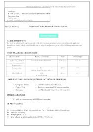 Free Resume Download Extraordinary Free Resume Templates Format Download Student Sample Word Doc