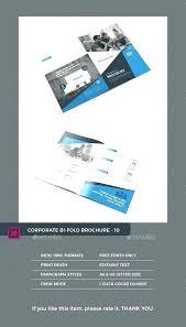 Catalog Template Publisher Bi Fold Brochure Template