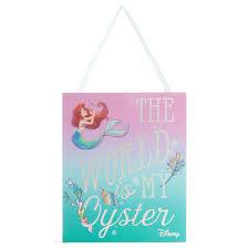 primark little mermaid plaque