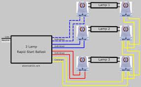 seriesl ballast lampholder wiring 3 lamps electrical 101 3 lamp series lampholder wiring diagram