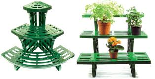 metal outdoor corner plant stand designs