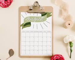 3d Paper Flower Calendar Items Similar To Corporate Calendar 2019 Customized