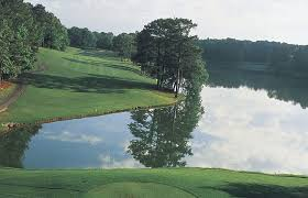 15th on the mountain view course at callaway gardens in pine mountain ga
