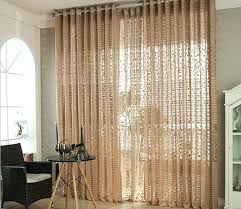 Light Brown Curtains Sheer Cafe Curtains Elegant Living Room Ready Made  Curtains Light Brown Fabric For