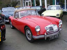 introduction to mga cars 1600 front 1600 rear