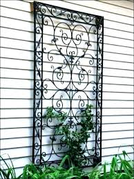large metal outdoor wall decor
