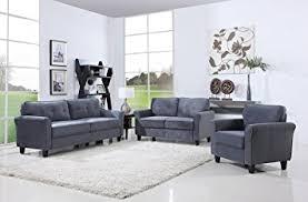 Amazon Classic Living Room Furniture Set Sofa Love Seat