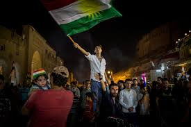 had stopped celebrating their vote for independence iraq turkey and iran began trying to undercut it credit ivor ett for the new york times