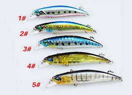 <b>1PCS Floating Minnow</b> Fishing Lure Laser Hard Artificial <b>Bait</b> 3D ...